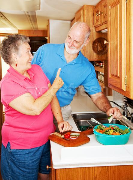 RV Seniors - No Snacking Stock photo © lisafx