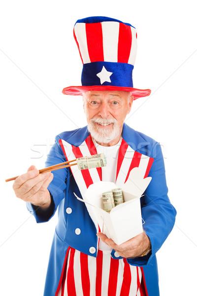 US Dollars to China Stock photo © lisafx