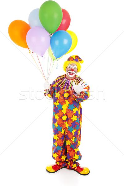 Birthday Clown Isolated  Stock photo © lisafx