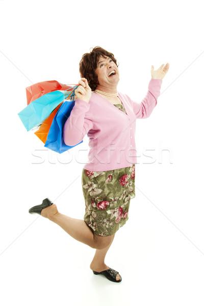 Cross Dresser Loves Shopping Stock photo © lisafx