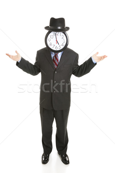 Faceless Businessman - Undecided Stock photo © lisafx