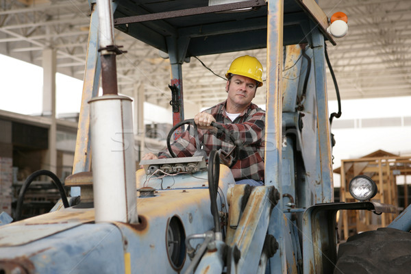 Driving Heavy Equipment Stock photo © lisafx