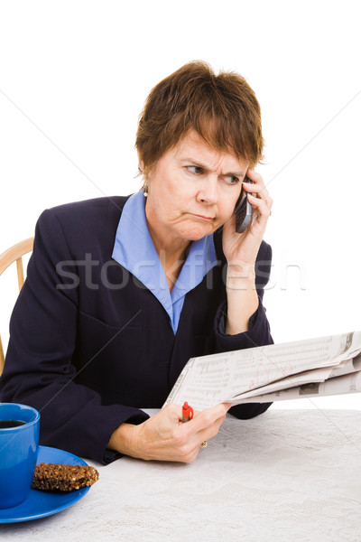 Job Hunting Without Success Stock photo © lisafx
