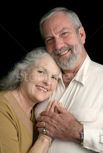 Mature Couple Happy Together Stock photo © lisafx
