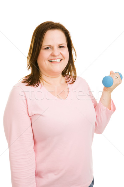 Plus Sized Workout Stock photo © lisafx