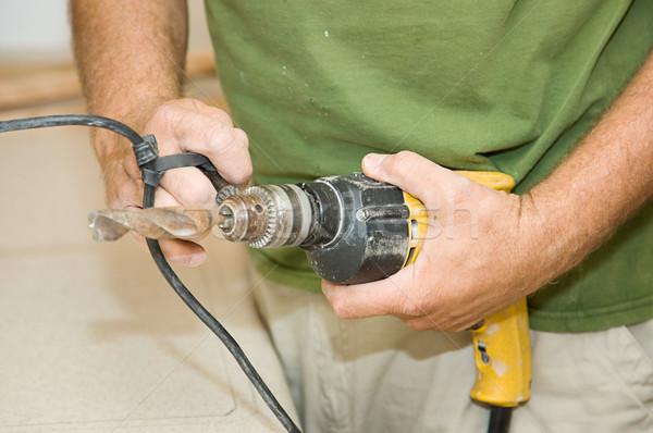 Tightening Drill Bit Stock photo © lisafx