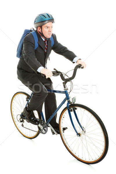 Riding Bicycle to Work Stock photo © lisafx