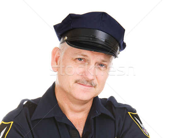 Police Officer Portrait Stock photo © lisafx