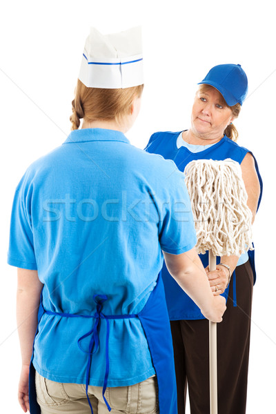 Time To Mop Up  Stock photo © lisafx