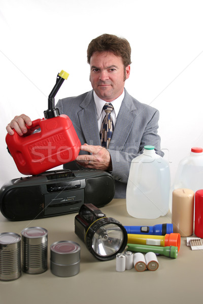 Hurricane Kit - Gas Can Stock photo © lisafx