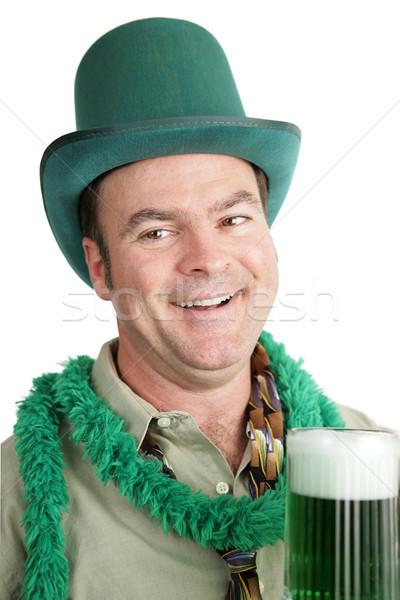 St Paddy's Day Drunk - Portrait Stock photo © lisafx