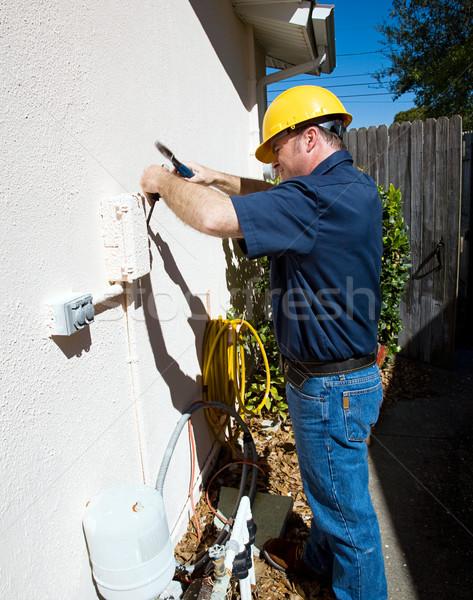 Stubborn Repair Job Stock photo © lisafx