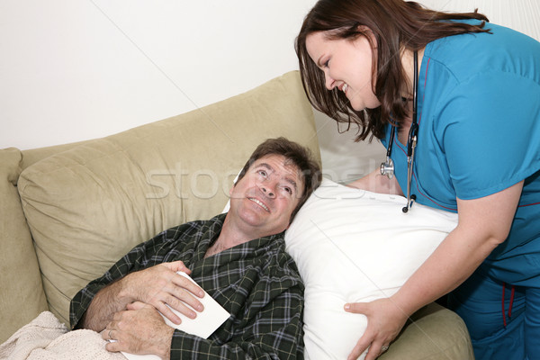 Home Health - Fluff Pillow Stock photo © lisafx
