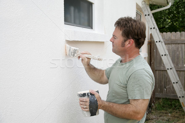 House Painter Working Stock photo © lisafx
