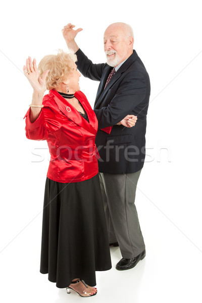 Idősek tánc éjszaka messze idős pár nagyszerű Stock fotó © lisafx