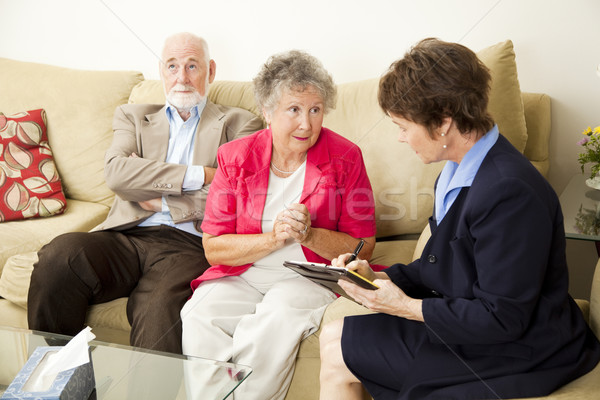 Marriage Counselng - Can You Help Us Stock photo © lisafx