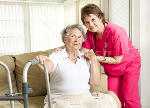 Stock photo: Nursing Home Care