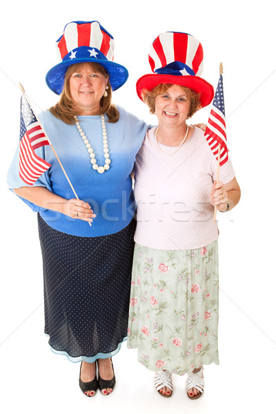 Stock Photo of American Voters Stock photo © lisafx