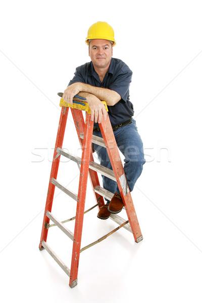 Escada amigável típico Foto stock © lisafx