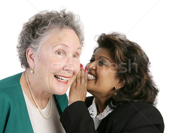 Workplace Gossip Stock photo © lisafx