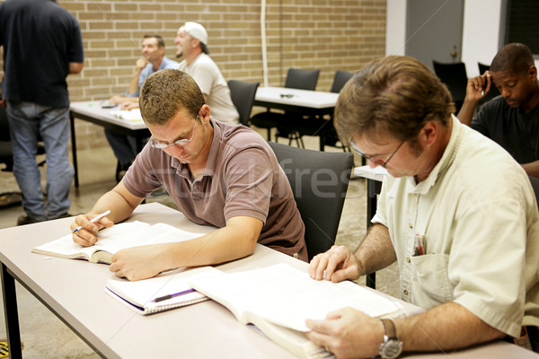 Adult Ed - Research Stock photo © lisafx