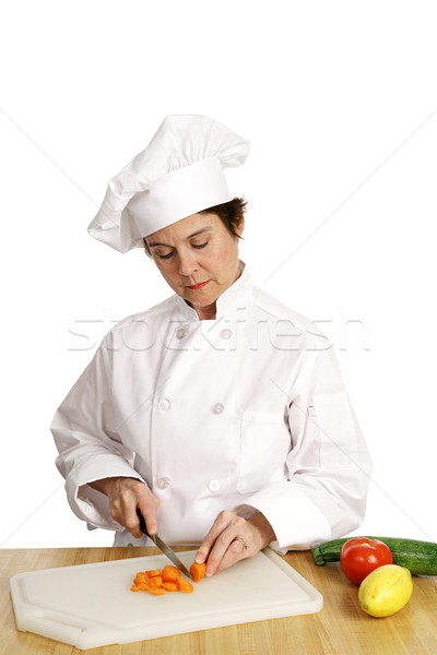 Chef Series - Busy Working Stock photo © lisafx