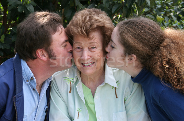 Kisses and Smiles Stock photo © lisafx