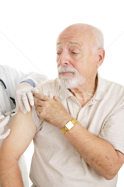Senior Medical - Vaccination Stock photo © lisafx