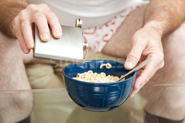 Zbóż gorzałka wódki płytki dziedzinie Zdjęcia stock © lisafx