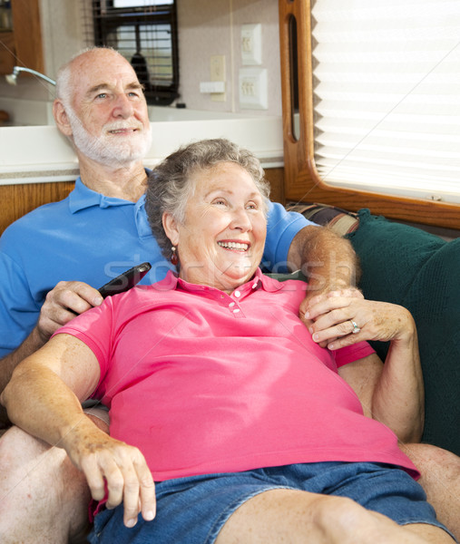 Relaxing Together in the Motor Home Stock photo © lisafx