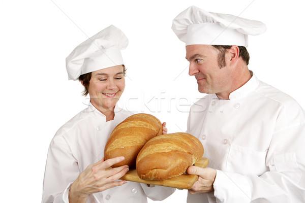Chef School - Teachers Approval Stock photo © lisafx