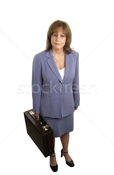 Confident Businesswoman Complete Stock photo © lisafx