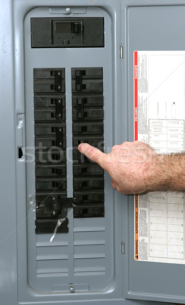 Electrical Panel Stock photo © lisafx