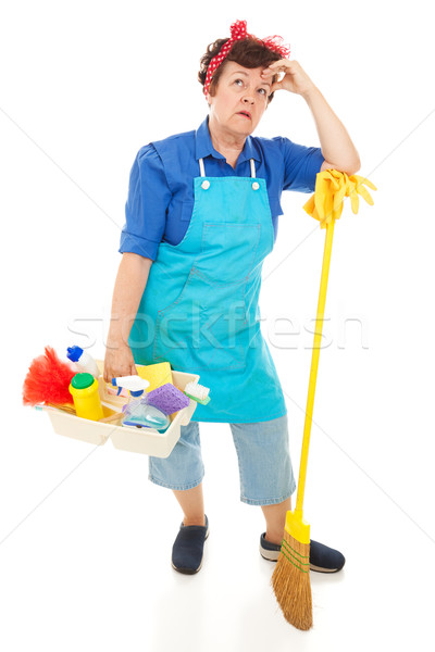 Maid Hates Her Job Stock photo © lisafx