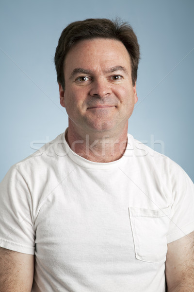 Average Man Portrait Stock photo © lisafx