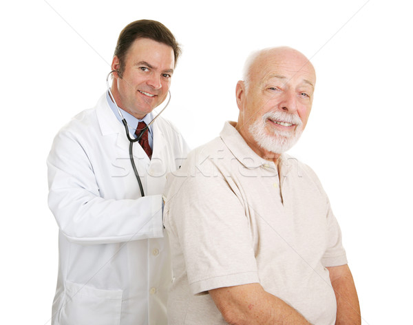 Senior Medical - Doc & Patient Stock photo © lisafx