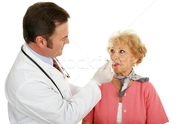 Senior Medical - Taking Temp Stock photo © lisafx