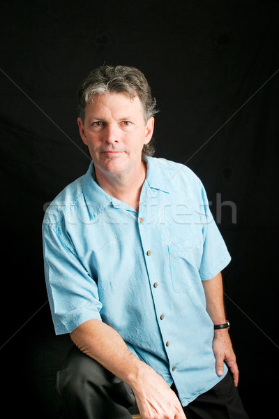 Handsome Man in his Fifties Stock photo © lisafx