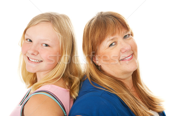 Blond Mother and Daughter Stock photo © lisafx
