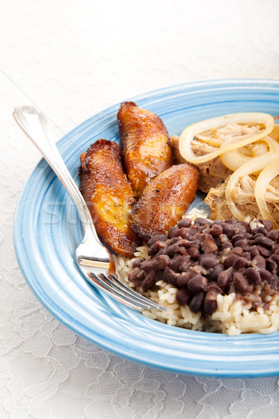 Traditional Cuban Meal Stock photo © lisafx