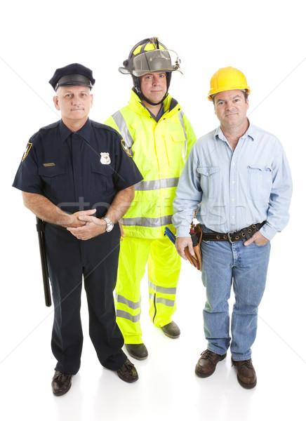 Working Men Stock photo © lisafx