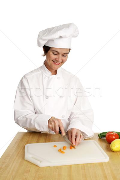 Chef Series - Food Prep Stock photo © lisafx