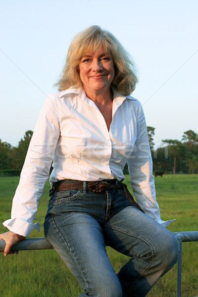Country Western Woman 2 Stock photo © lisafx
