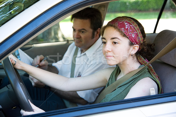 Driving Test Stock photo © lisafx