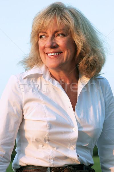 Mature Beauty - Optimist Stock photo © lisafx