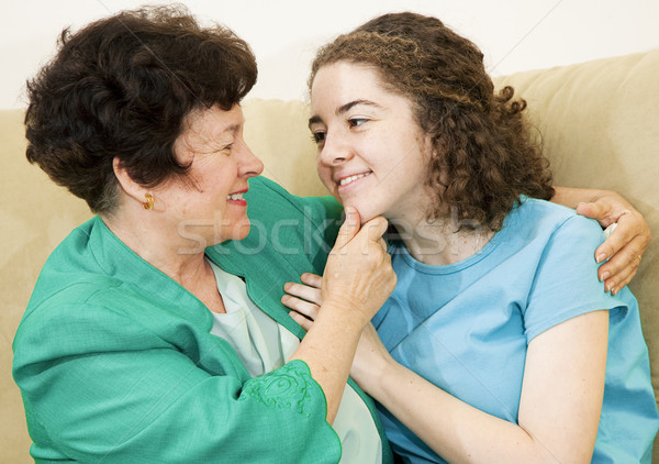 Mother Daughter Affection Stock photo © lisafx