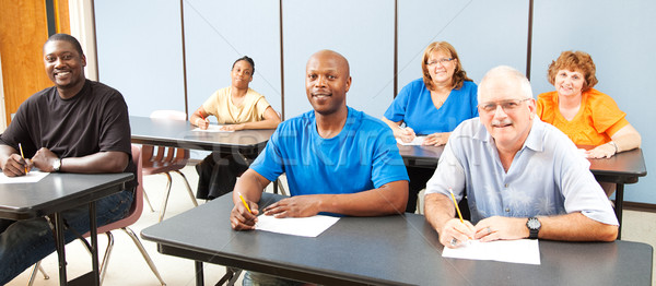 Diversity in Adult Education - Banner Stock photo © lisafx