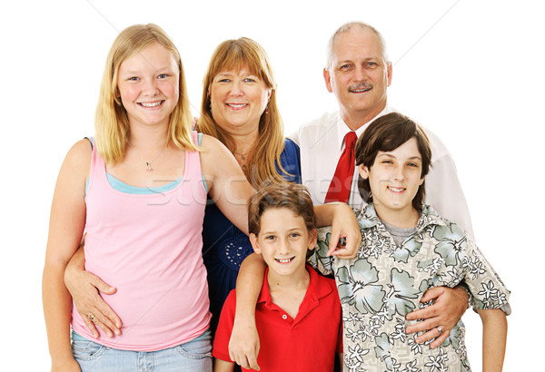Stock Photo of Nuclear Family Stock photo © lisafx