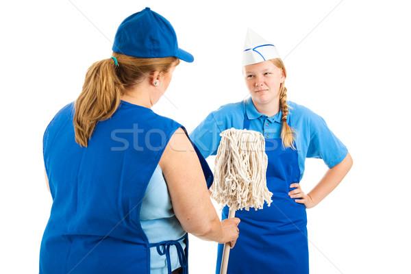 Its a Dirty Job Stock photo © lisafx