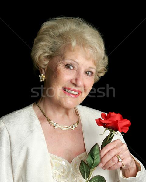 Elegant Successful Senior Lady Stock photo © lisafx